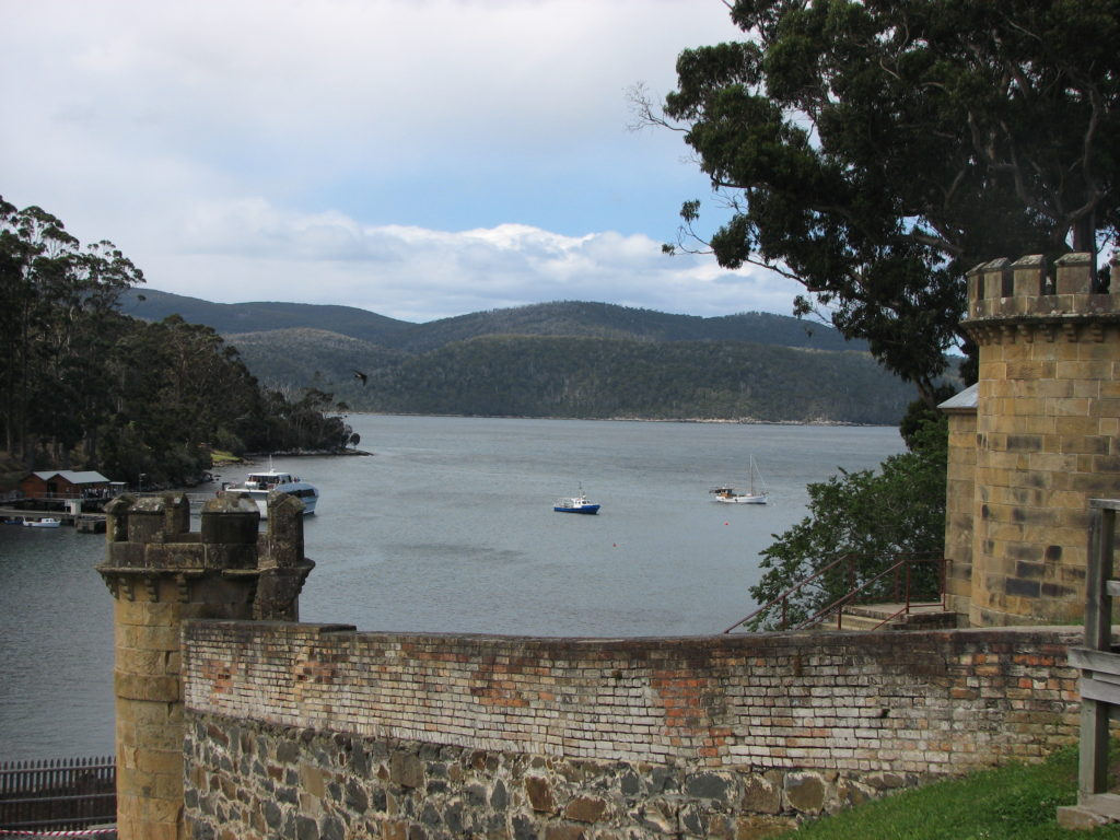 There was no escape for those early residents at the Port Arthur Penal Settlement.