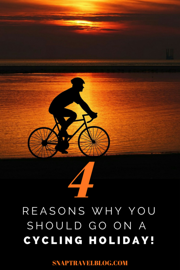 4 Reasons you should go on a cycling or bike riding holiday.