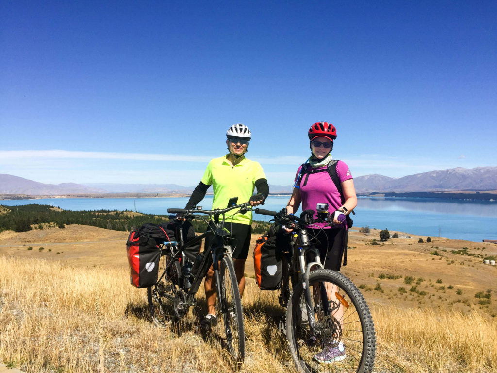 An electric bike helps you keep up with the fitter members of the group.