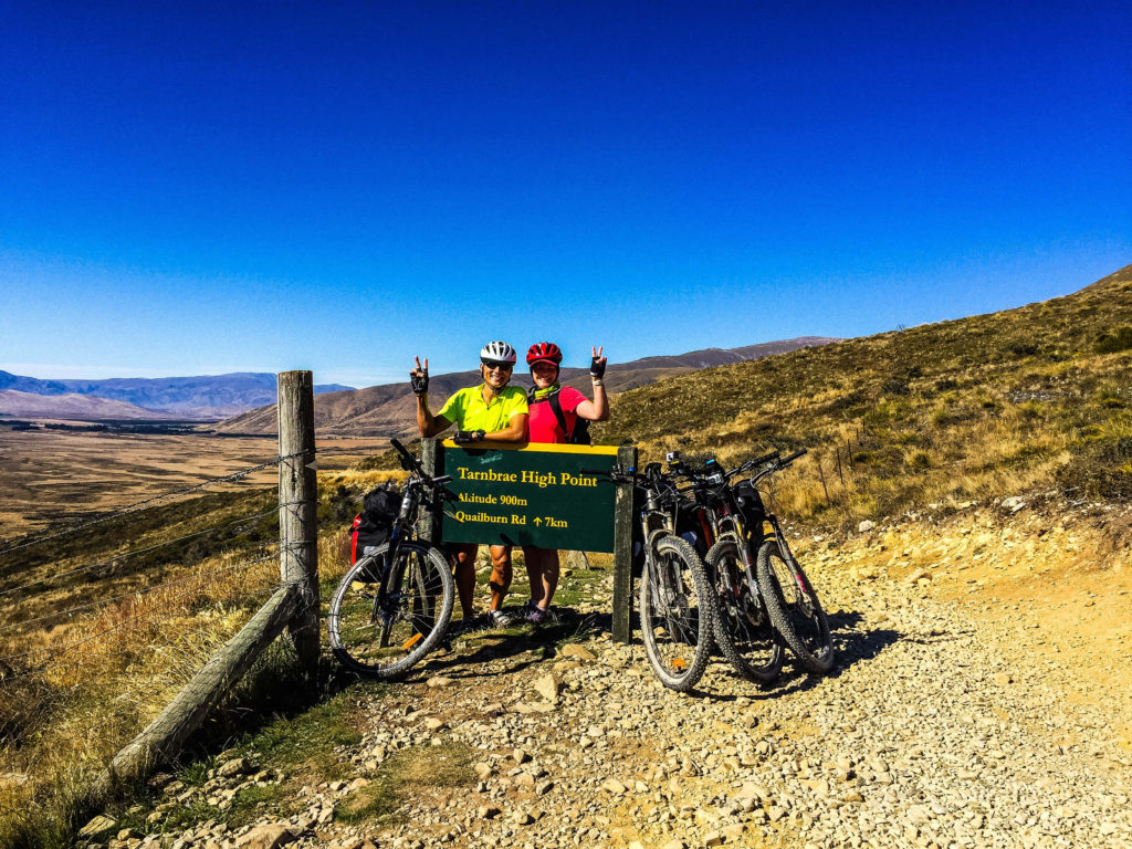 Cycling the Alps 2 Ocean in New Zealand