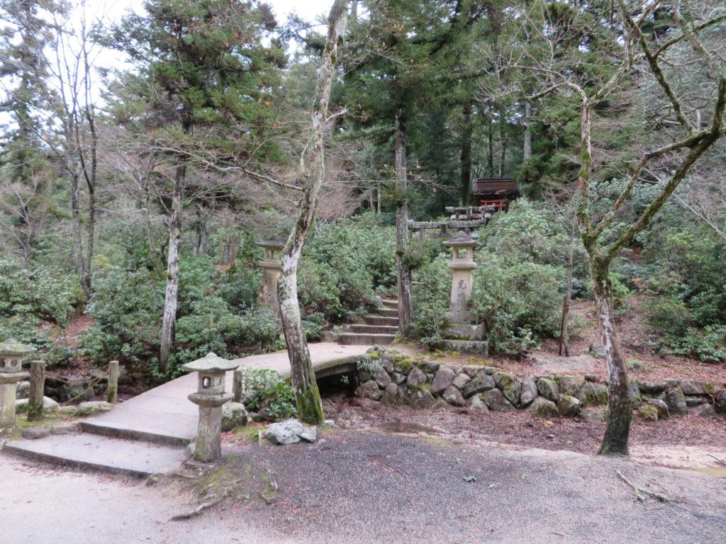 Enjoy the nature trails in Momijidani Park.