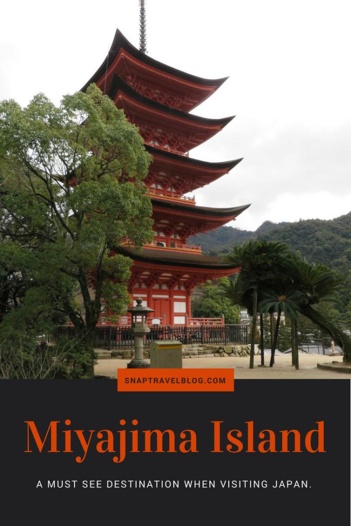 Miyajima Island: a must see destination when visiting Japan. Five-Storied Pagoda