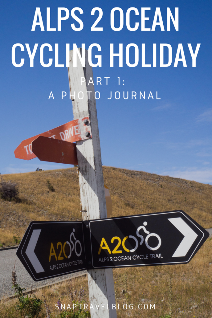 Alps 2 Ocean Cycling Holiday Part 1: A Photo Journal. Our bike riding vacation in New Zealand.