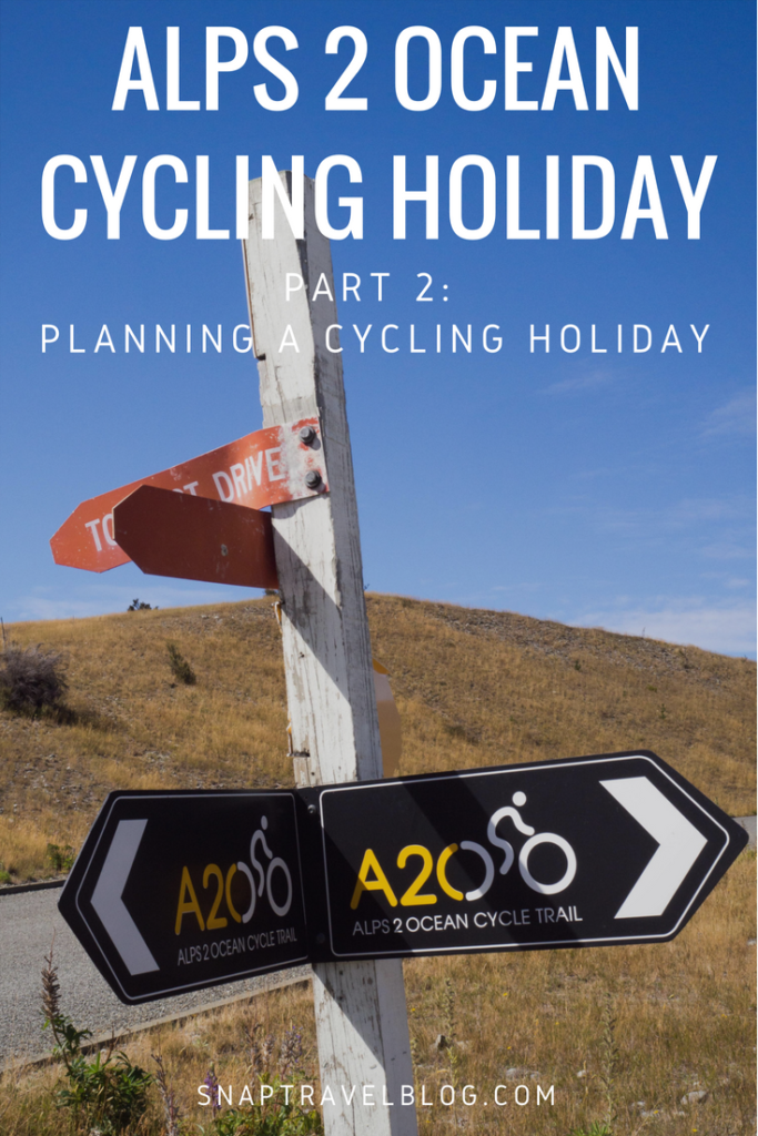 Planning a cycling holiday in NZ: Alps 2 Ocean Cycling Holiday