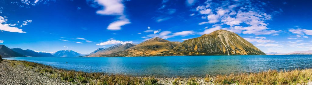 Alps 2 Ocean Cycling Holiday - Day 2 Lake Ohau