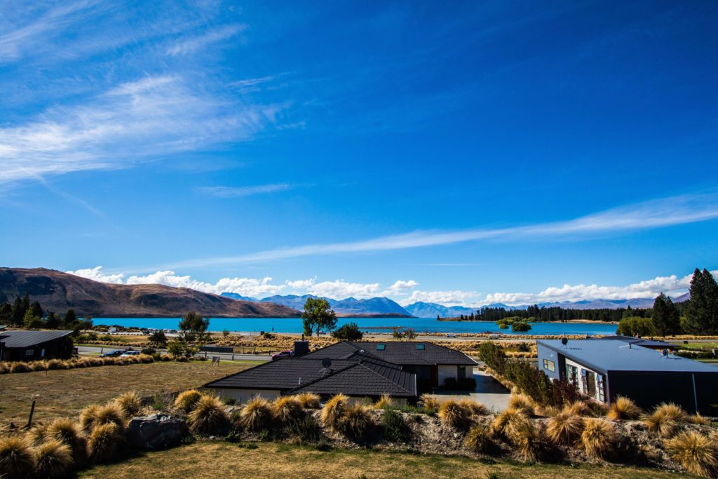 Alps 2 Ocean Cycling Holiday - View of Lake Tekapo