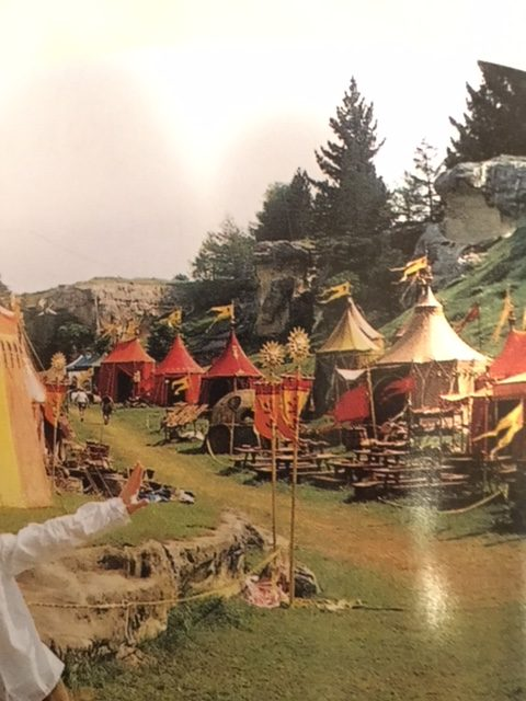 Photo from the book The Lion the Witch and the Wardrobe