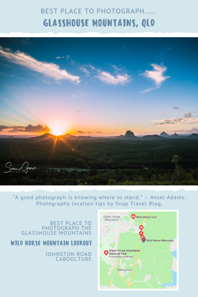 Best Place to Photograph the Glasshouse Mountains - Snap Travel Blog