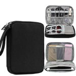Honeystore Universal Double Layer Travel Gear Organizer Portable Electronic Accessories Storage Case