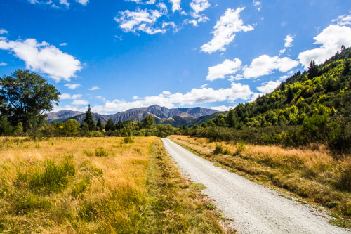 Trail to Arrowtown, NZ
