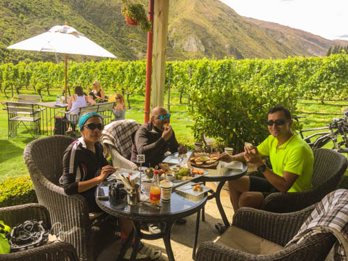 Lunch at Gibbston Valley Winery