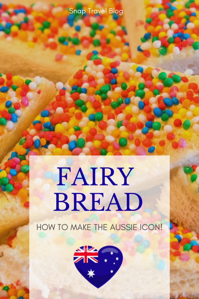 How to make the Aussie icon for Fairy Bread Day by Snap Travel Blog.