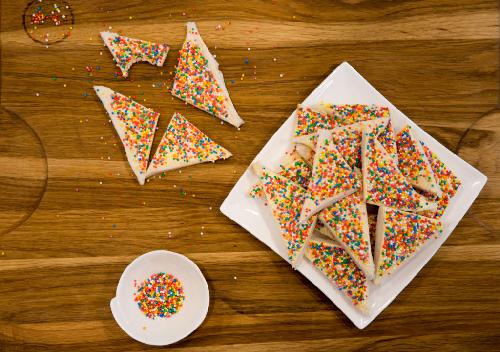 Fairy Bread Day celebrates and iconic Australian food.