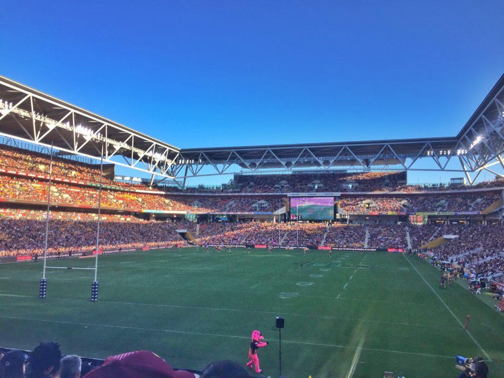 Qld Bucket List - Brisbane Broncos Game