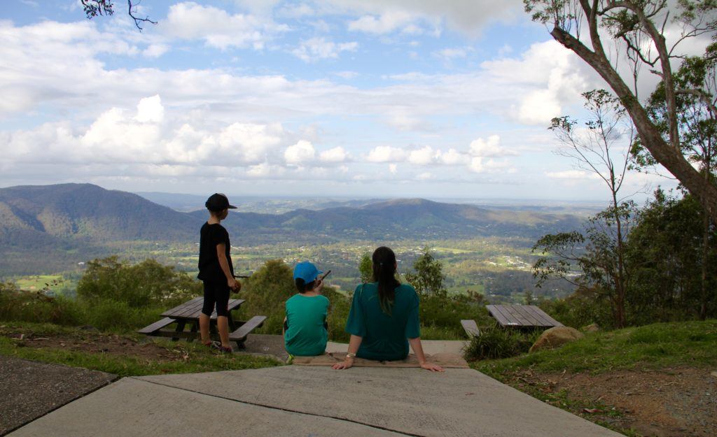 Jolly's Lookout, Mount Nebo